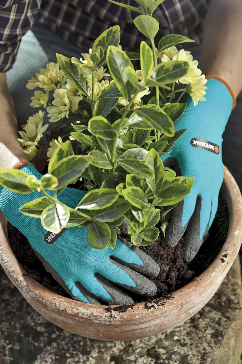 """Перчатки садовые """"Gardena"""", для работы с почвой. Размер 10"""