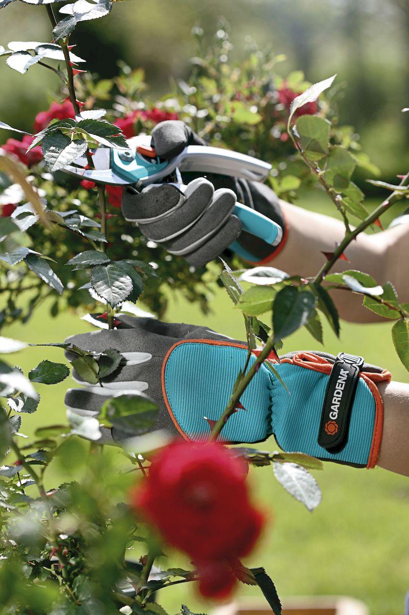 """Перчатки """"Gardena"""" для ухода за кустарниками. Размер 7"""