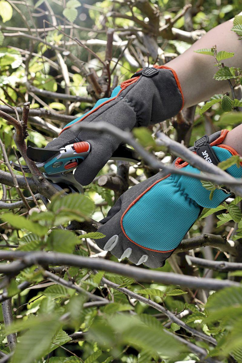 """Перчатки """"Gardena"""" для ухода за кустарниками. Размер 9"""