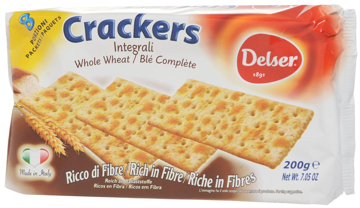 Delser крекеры из непросеянной муки ( 0455 )