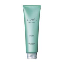Lebel Proedit Care Маска для жестких, непослушных/очень поврежденных волос Works Soft Fit Plus 250 мл