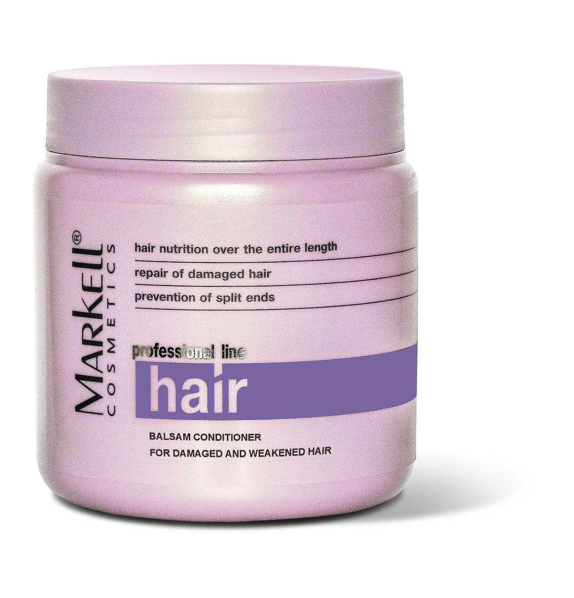 Markell Бальзам-кондиционер Professional Hair Line для поврежденных и ослабленных волос, 500 мл