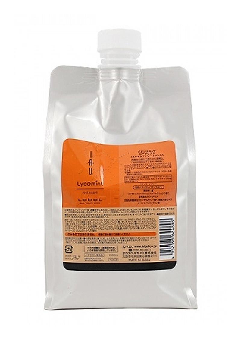 Lebel IAU Lycomint Root Suppli - Крем питательный и увлажняющий для кожи головы 1000 мл