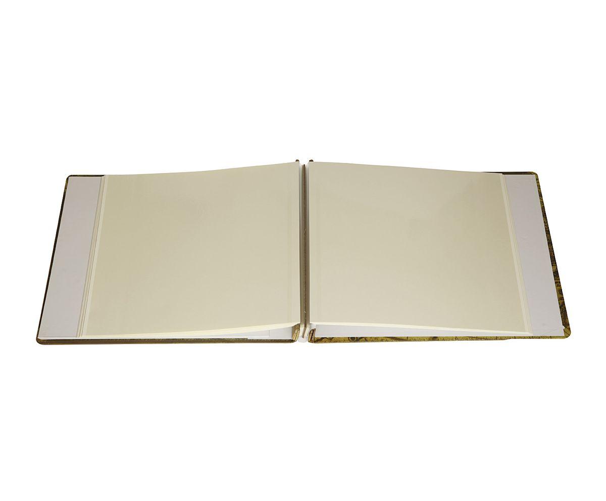 """Фотоальбом магнитный HomeMaster """"Путешествие"""", 20 листов, цвет: мультиколор, 33 х 32 х 4"""