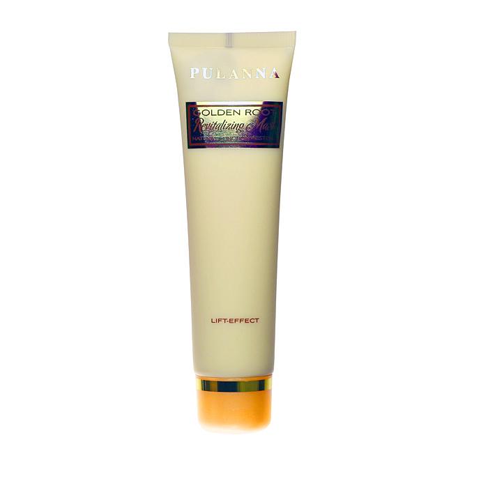 Pulanna Оживляющая маска для кожи лица и шеи на основе золотого корня - Revitalizing Mask Natural Function Restore 60 г