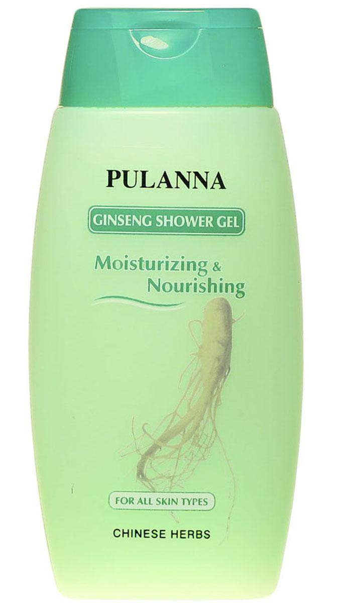 Pulanna Питательный гель для душа с экстрактом женьшеня на основе женьшеня - Ginseng Shower Gel 250 мл