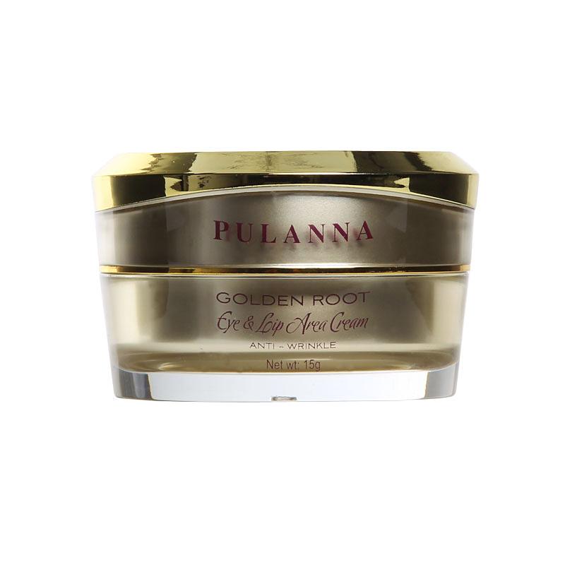 Pulanna Восстанавливающий крем для контура век и губ на основе золотого корня - Eye  Lip Area Cream Anti-Wrinkle 15 г