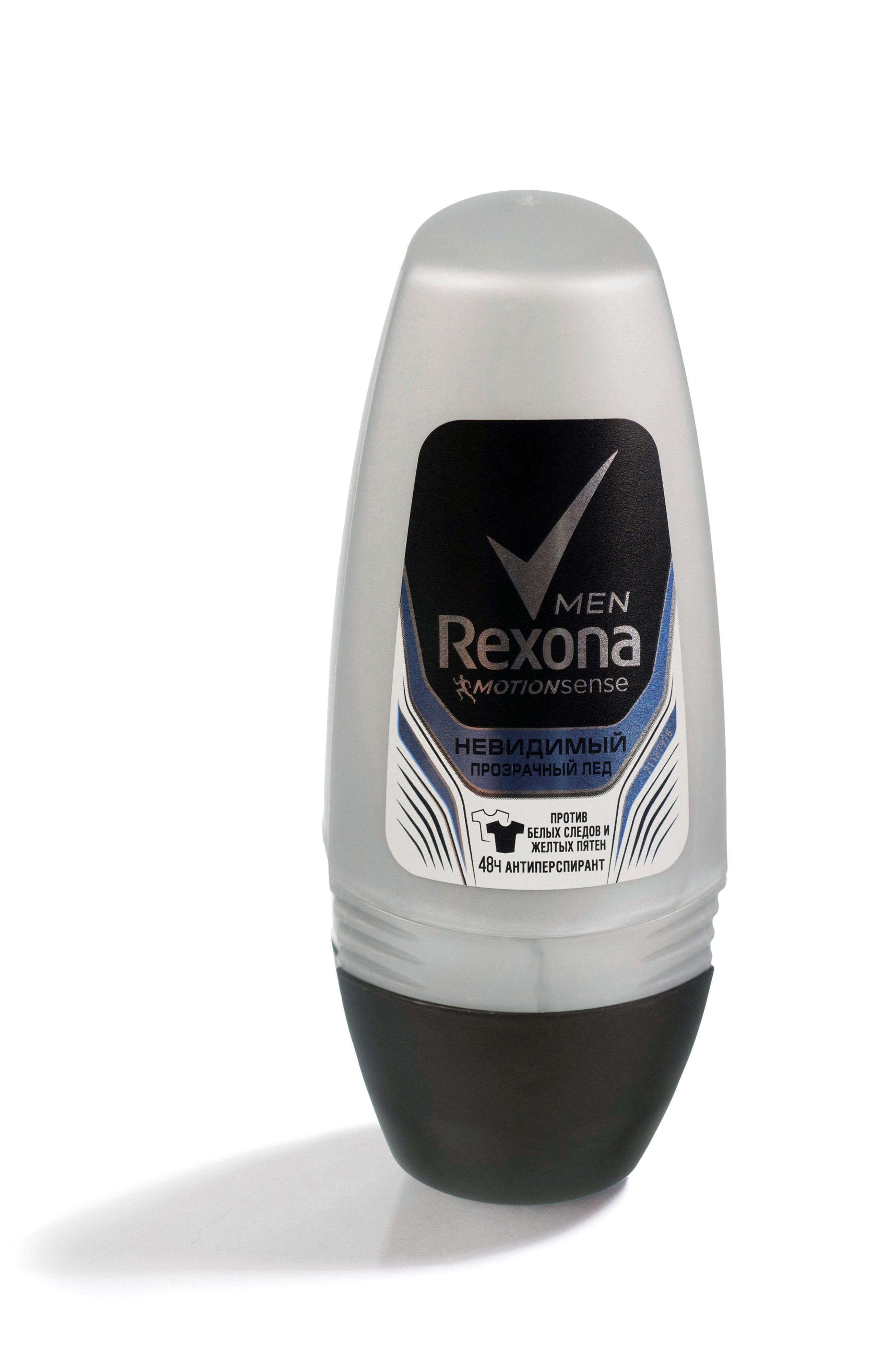 Rexona Men Motionsense Антиперспирант ролл Прозрачный лед 50 мл