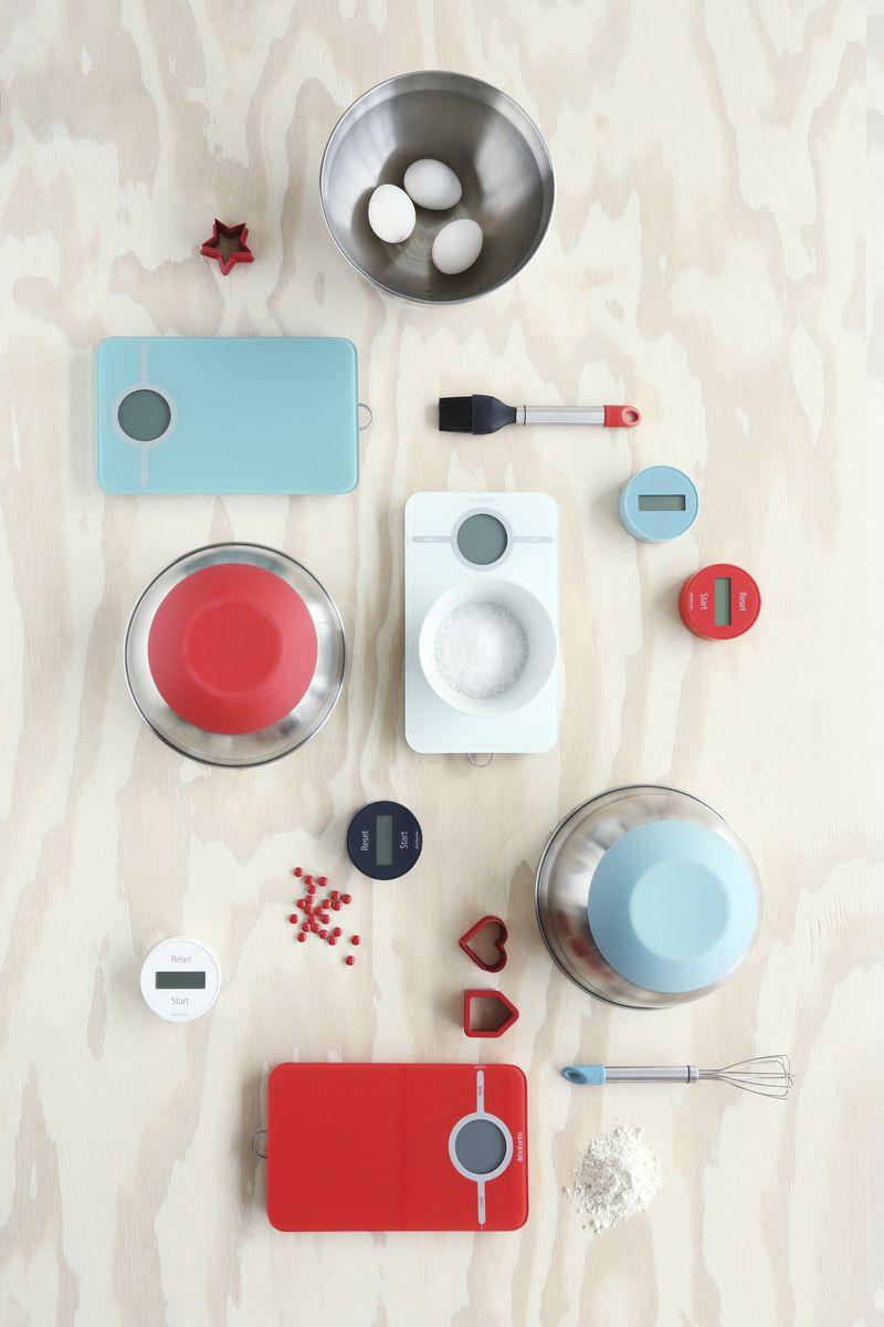 "Весы кухонные электронные ""Brabantia"", цвет: белый, до 5 кг. 480584"