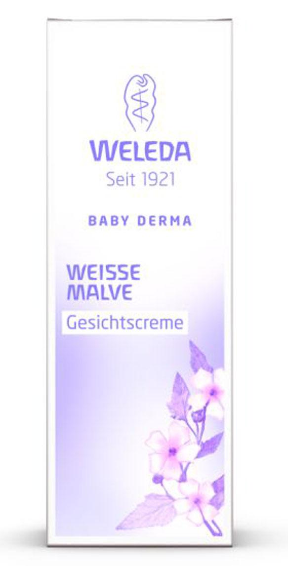 Weleda Крем для лица Baby Derma, с алтеем, для гиперчувствительной кожи, 50 мл