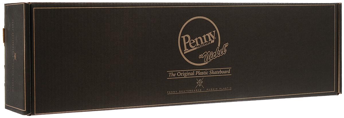 """Пенни борд Penny """"Nickel"""", цвет: фиолетовый, розовый, черный, дека 69 х 19 см"""