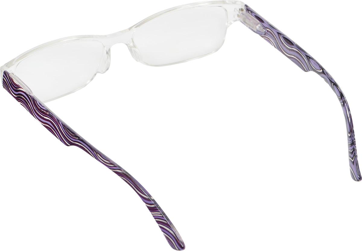 Proffi Home Очки корригирующие (для чтения) 363 Fabia Monti +3.50, цвет: фиолетовый