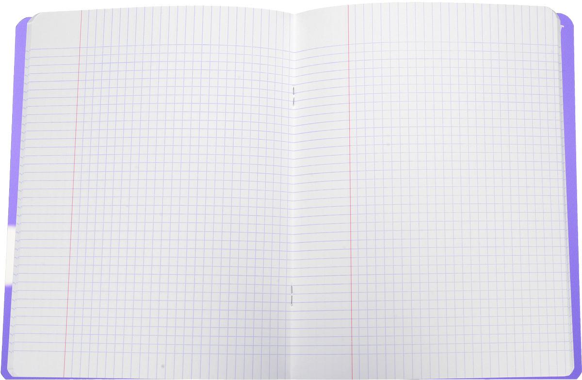 Oxford Тетрадь Openflex 48 листов в клетку цвет фиолетовый