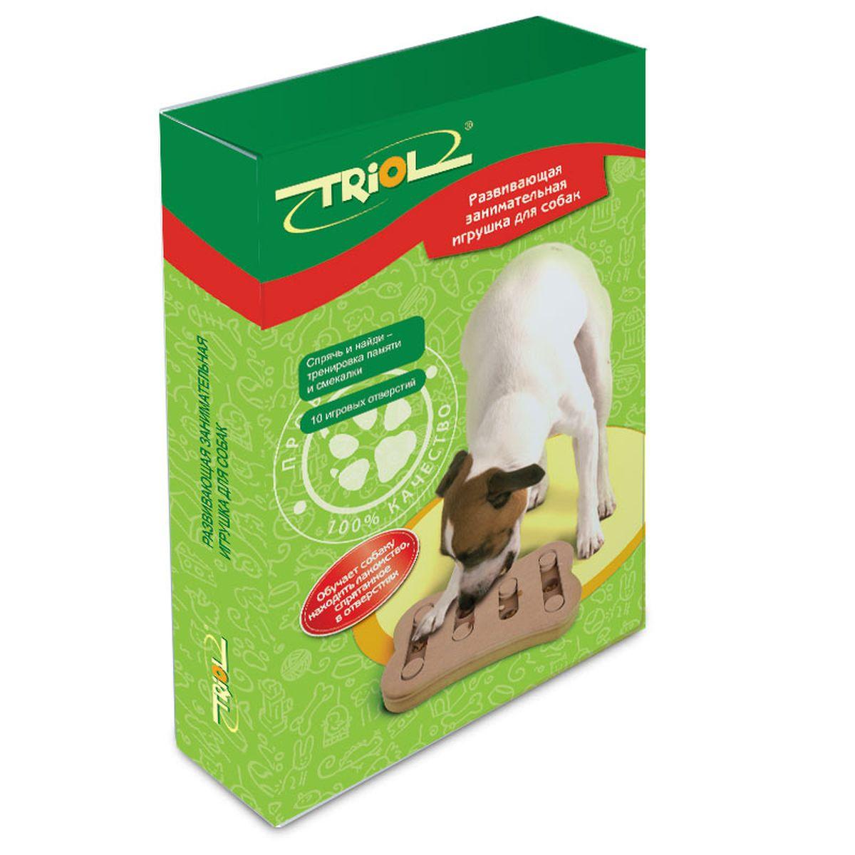 """Игрушка для собак """"Triol"""", 29,5 х 19 х 3,4 см"""