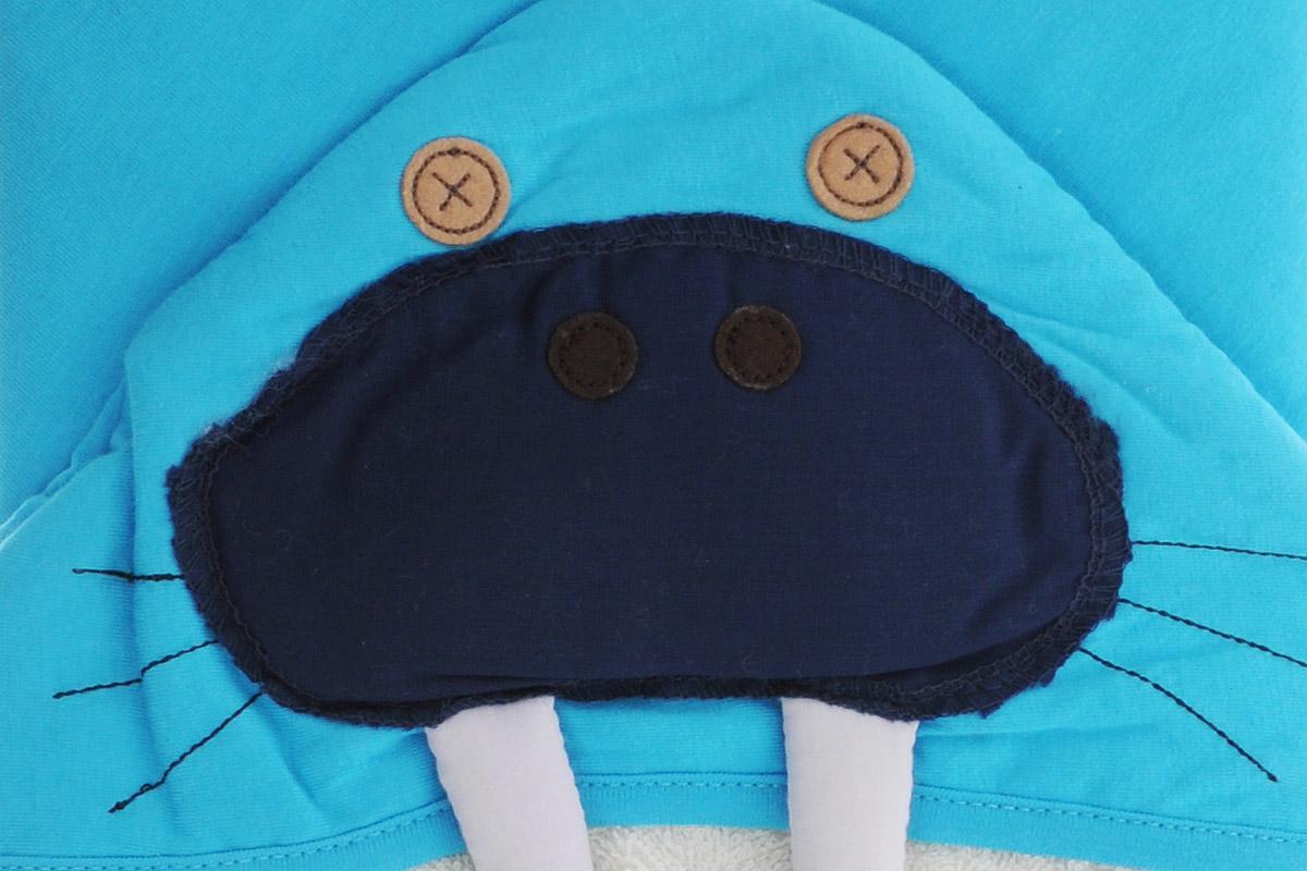 3 Sprouts Полотенце с капюшоном Морж 79 х 79 см