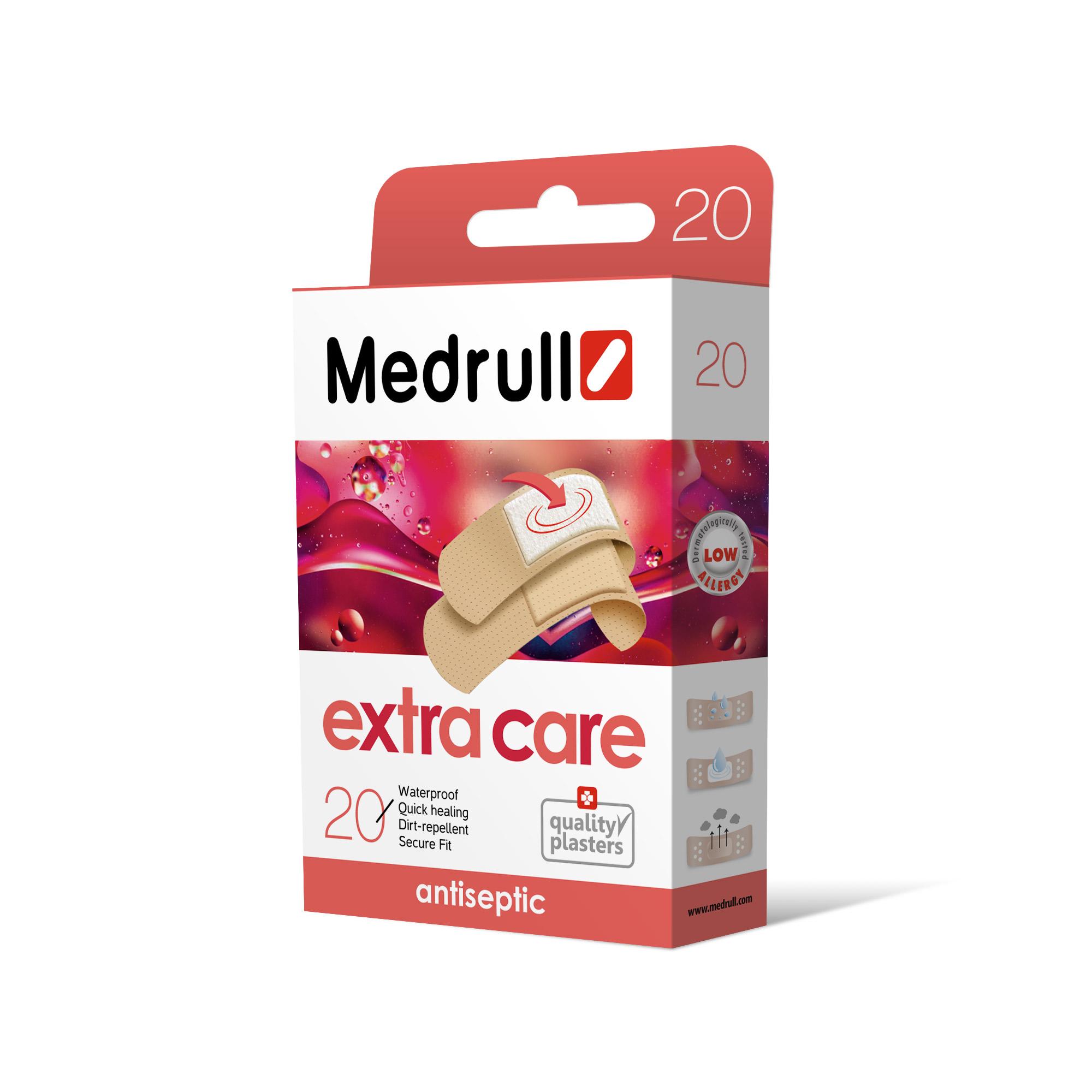 Medrull Набор пластырей Extra Care, №20