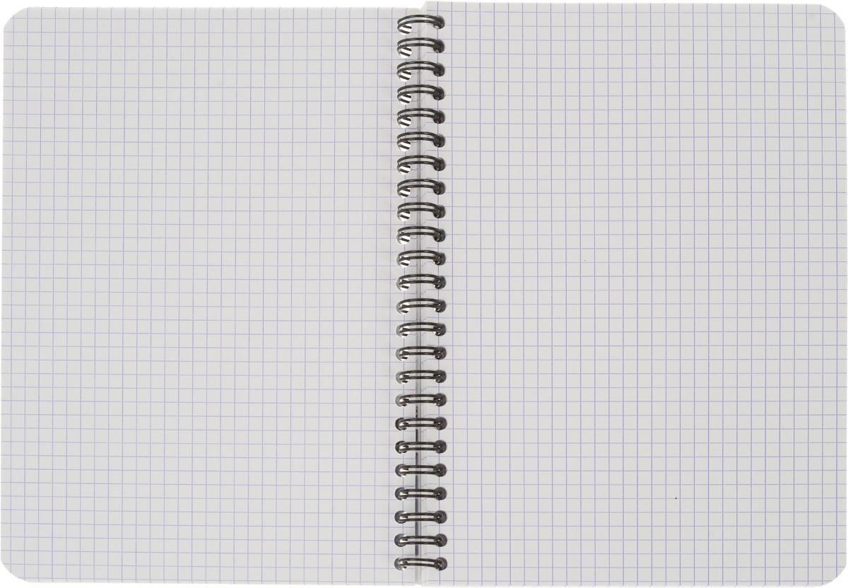 Oxford Тетрадь Essentials 90 листов в клетку цвет черный серый