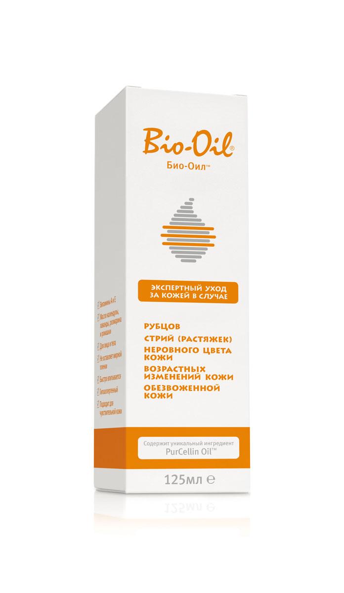 Bio-Oil Масло косметическое от шрамов, растяжек, неровного тона, 125 мл