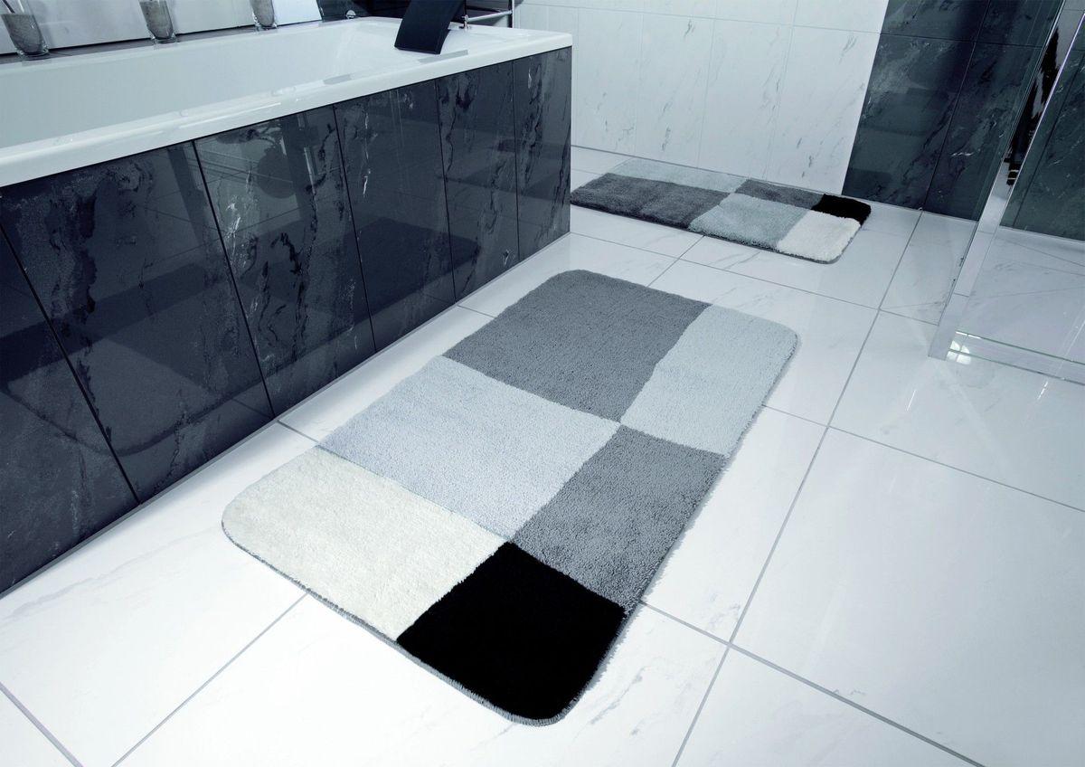 """Коврик для ванной Ridder """"Pisa"""", цвет: серый, 50 х 50 см"""