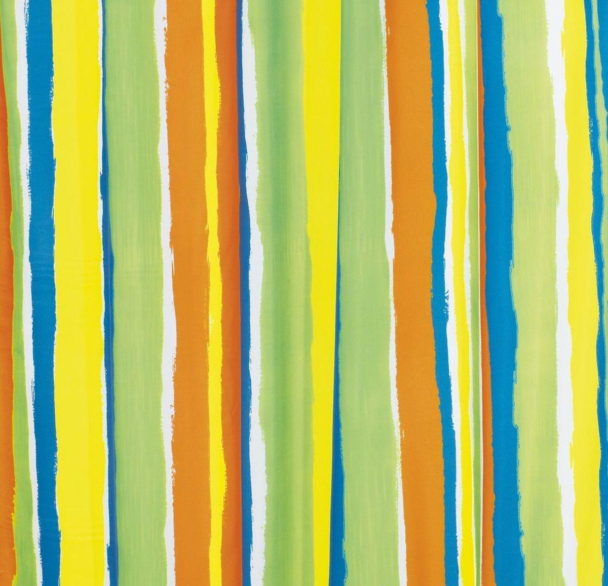 "Штора для ванной комнаты Ridder ""Tutu"", цвет: цветной, 180 х 200 см"