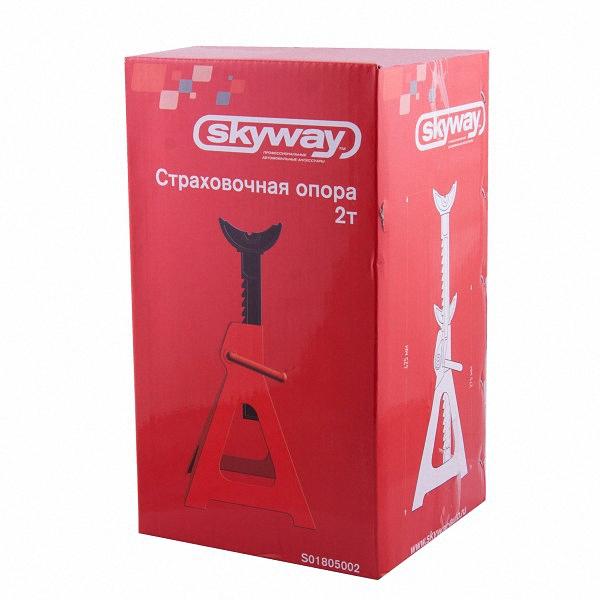"""Опора страховочная """"Skyway"""", 2 т, высота 275-425 мм, 2 шт. S01805002"""