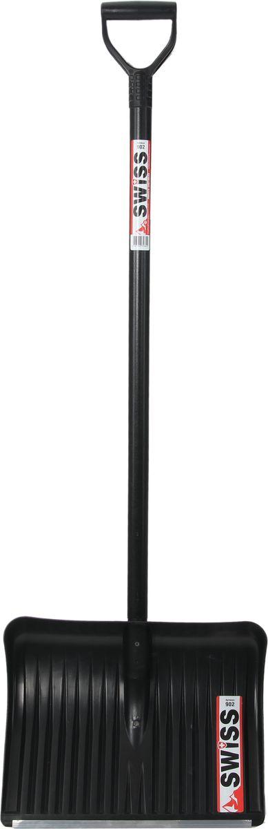 "Лопата снеговая ""Swiss"", 20 ребер жесткости, 50 х 42 см"