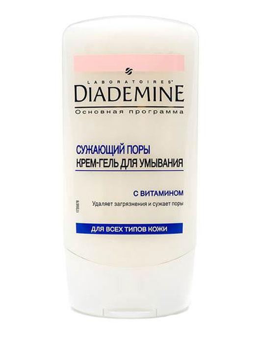 Diademine Крем-гель для умывания, сужающий поры, для всех типов кожи, 150 мл