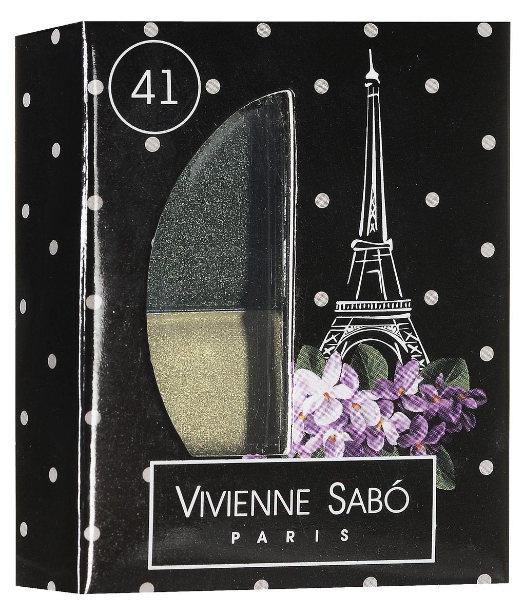 Vivienne Sabo Тени для век двойные Jeter du Chic, тон 41, 2,4 г