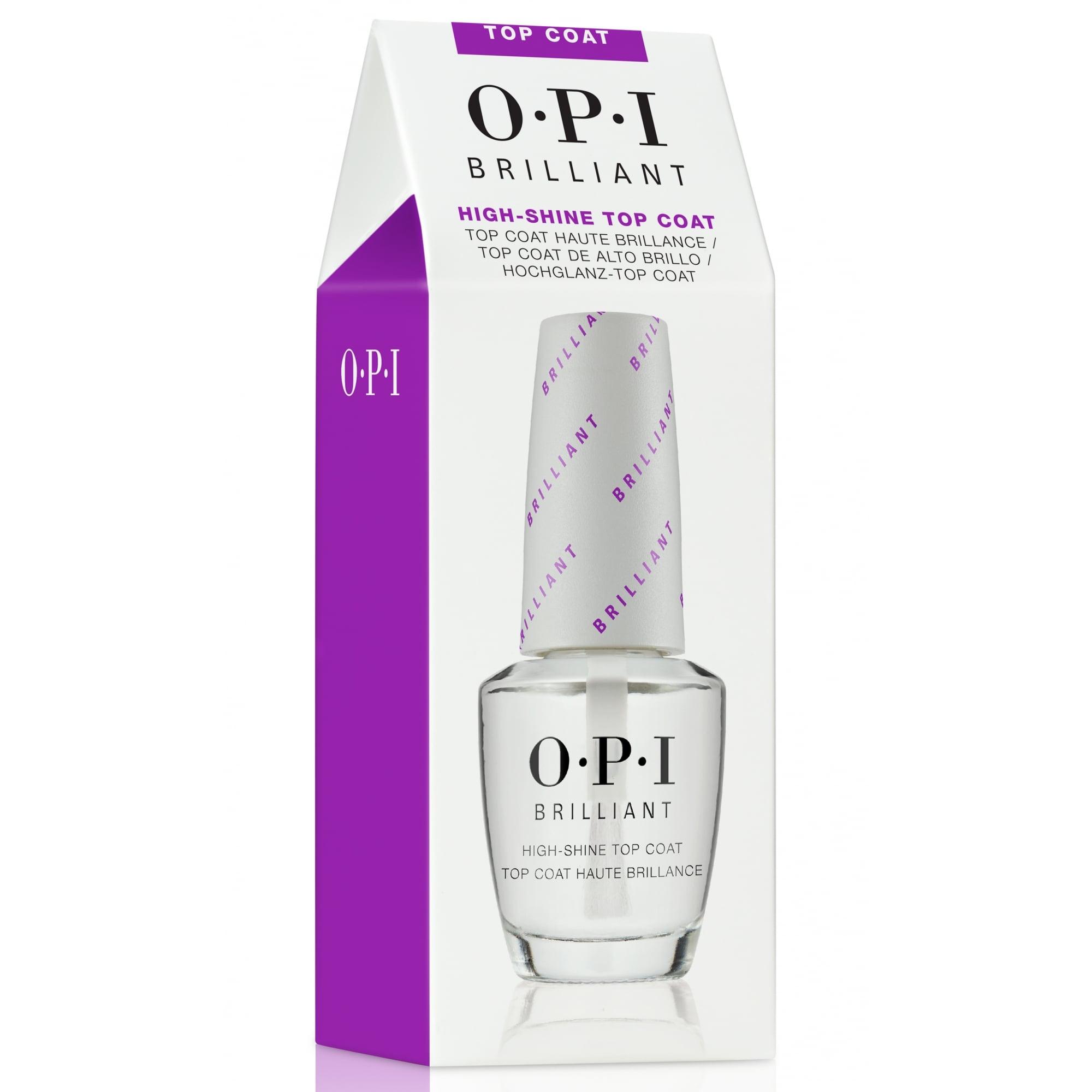 OPI Верхнее покрытие с бриллиантовым блеском Brilliant Top Coat, 15 мл