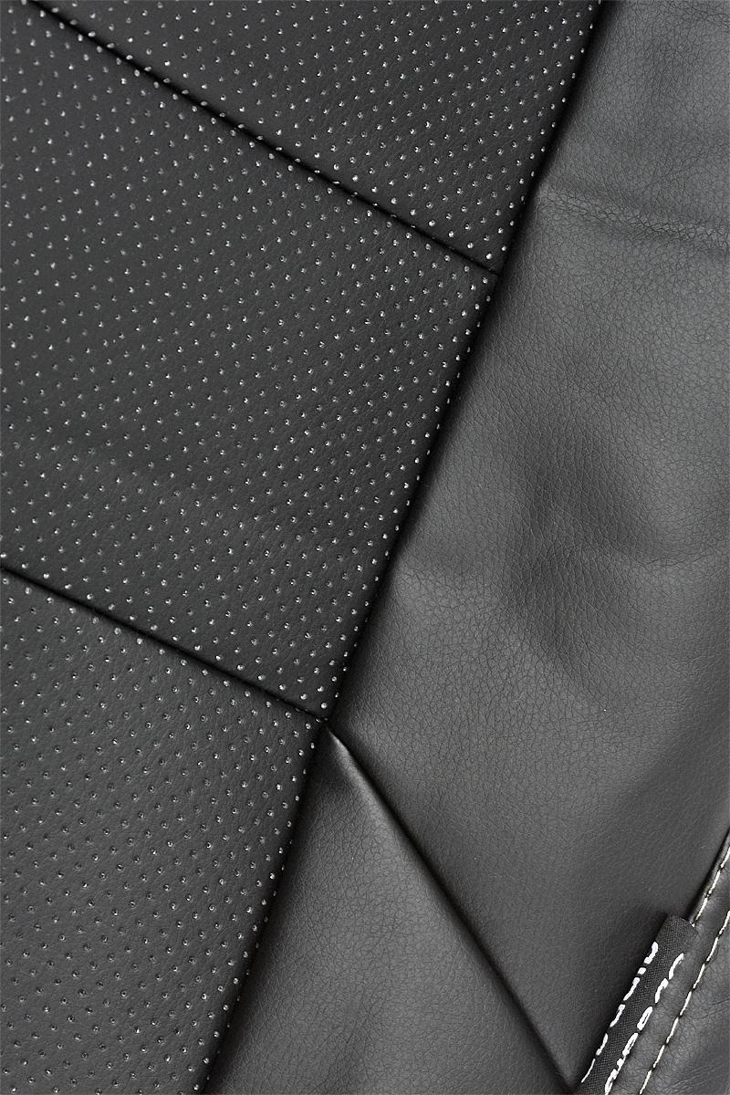 """Чехлы автомобильные Senator """"Atlant"""", для Renault Logan 2004-2013, седан, 5 подголовник, цвет: черный"""