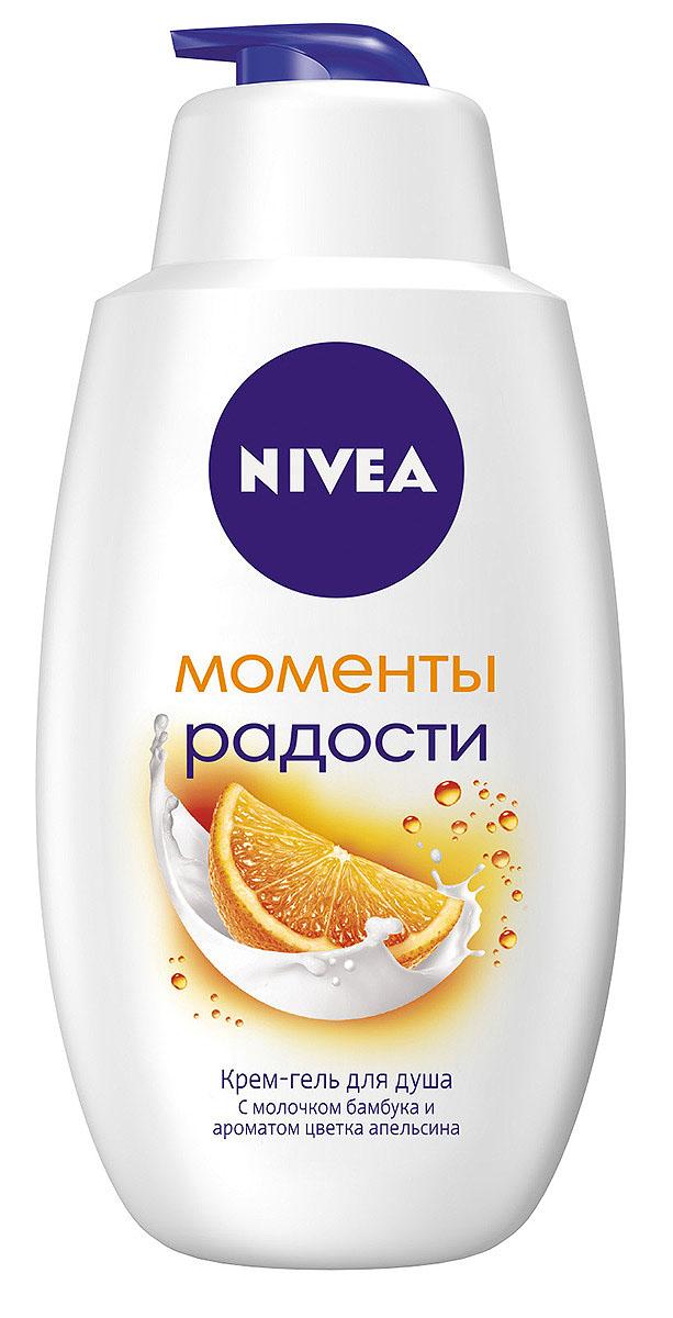 NIVEA Гель-уход для душа Крем Апельсин 750 мл (Nivea)