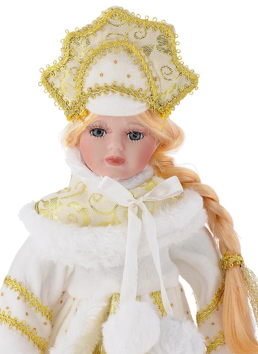 "Кукла декоративная Magic Time ""Снегурочка Алечка"", на подставке, высота 30 см"
