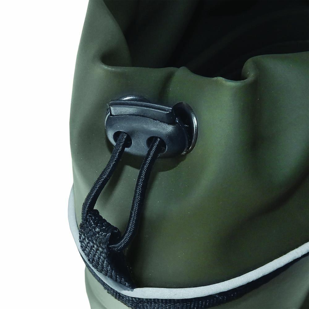 """Сапоги для рыбалки FisherMan Nova Tour """"Сарма"""", цвет: зеленый, черный. Размер 46"""