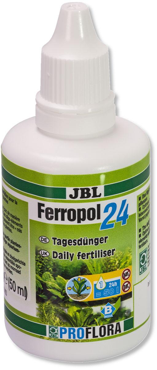 """Удобрение для аквариумных растений JBL """"Ferropol 24"""", комплексное, 50 мл (50,8 г)"""