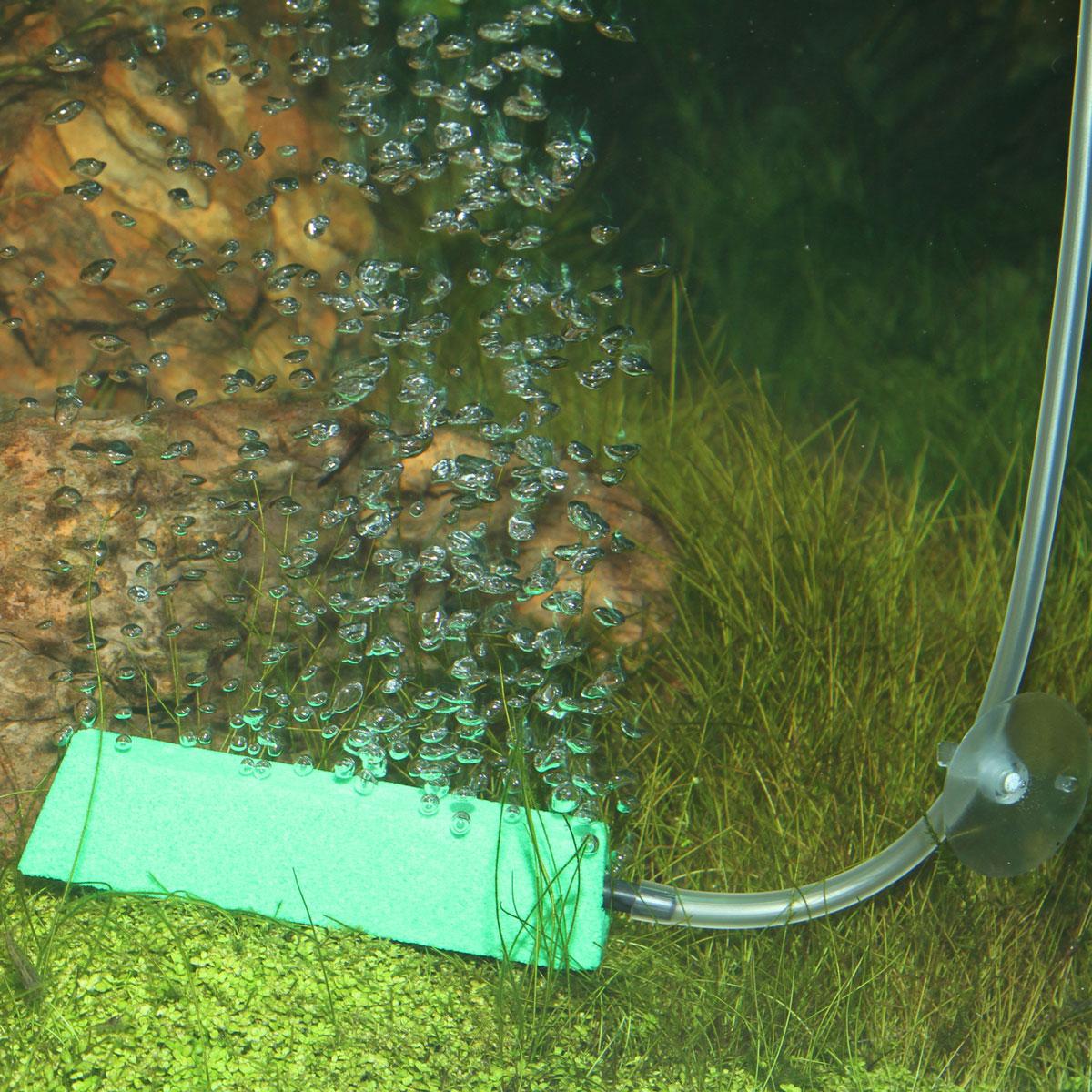 Как сделать в аквариуме шторку из распылителя