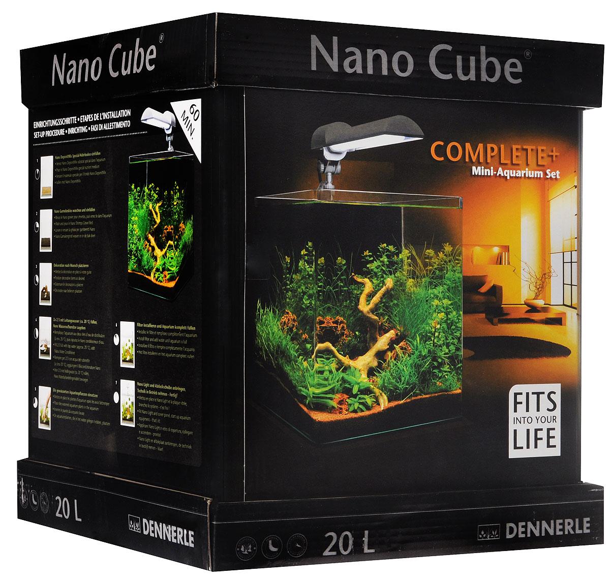 "Комплект Dennerle ""NanoCube Complete PLUS"", 20 л"