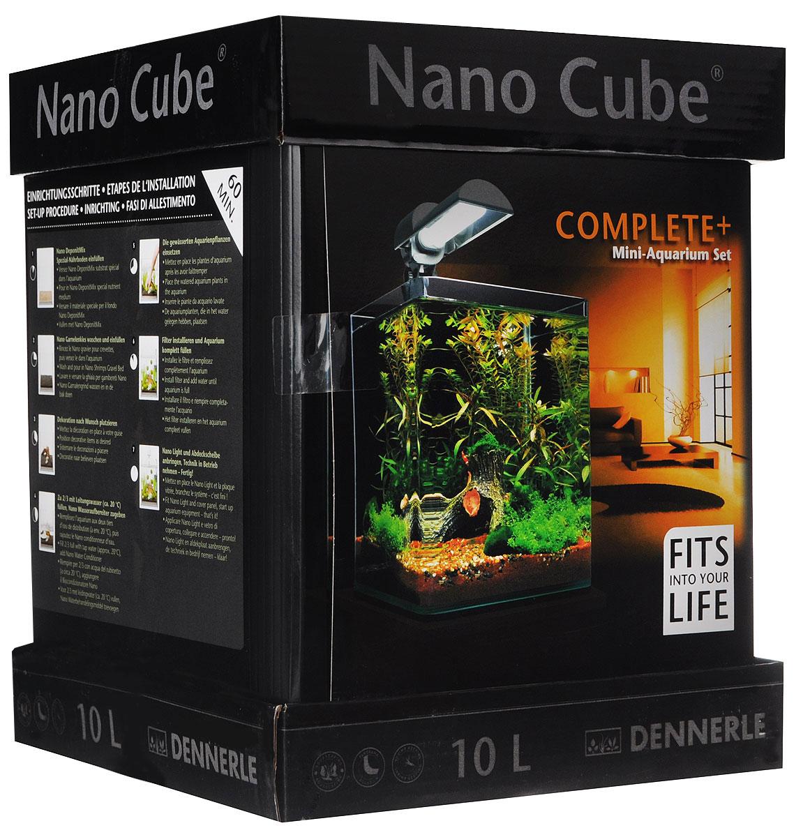 "Комплект Dennerle ""NanoCube Complete PLUS"", 10 л"