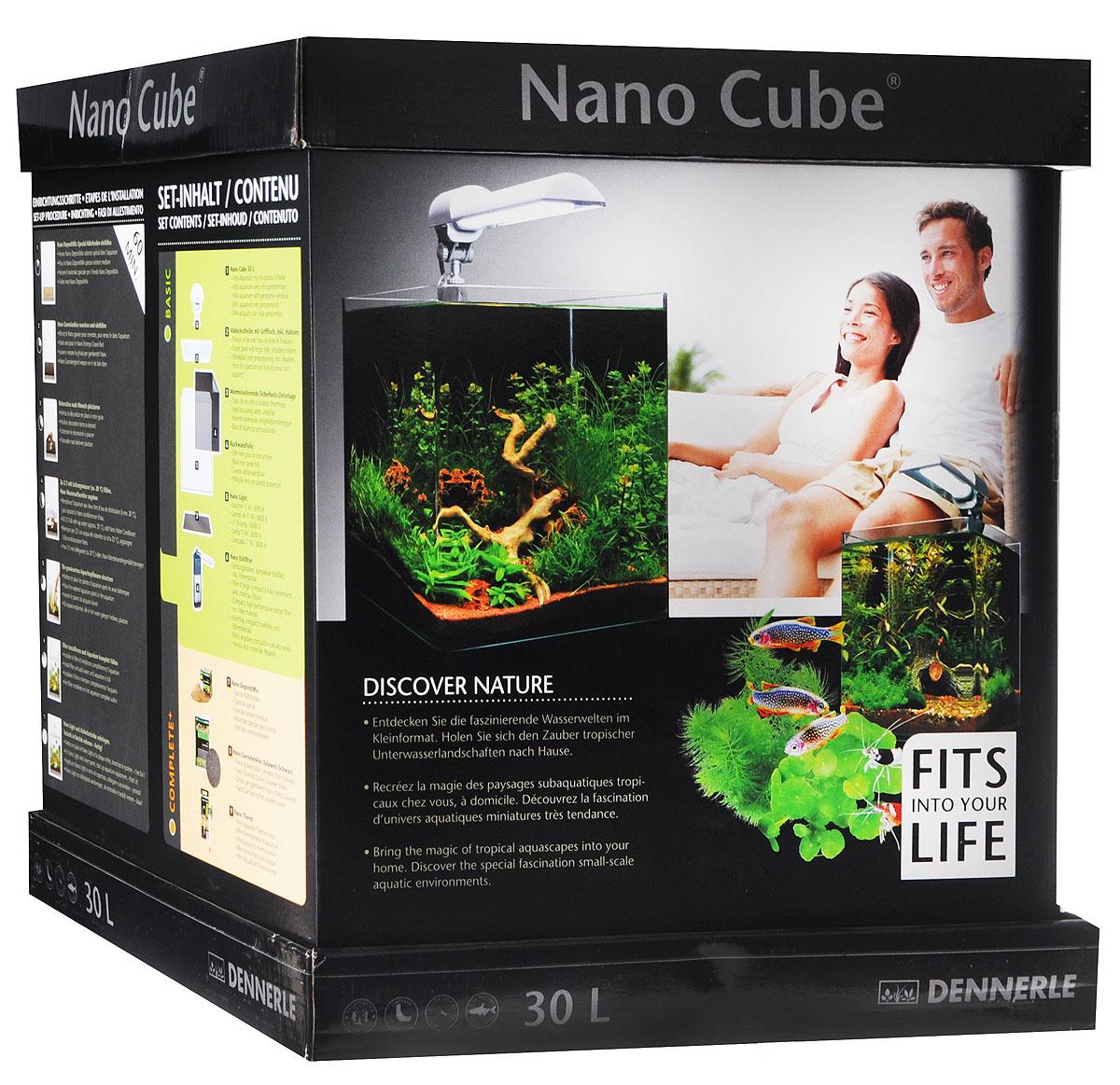 "Комплект Dennerle ""NanoCube Complete PLUS"", 30 л"