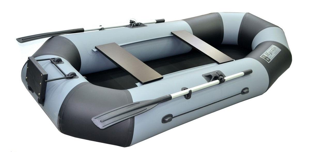 """Лодка надувная Муссон """"Н 270"""", цвет: серый"""