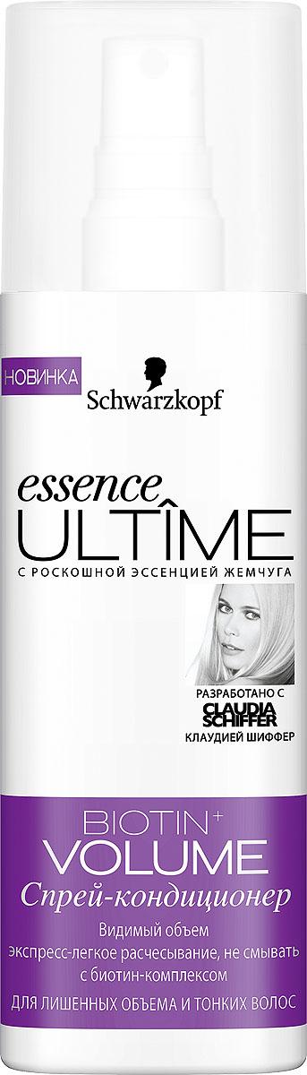 Essence Ultime Спрей-кондиционер Biotin+ Volume, для лишенных объема и тонких волос, 200 мл (Essence ULTIME)