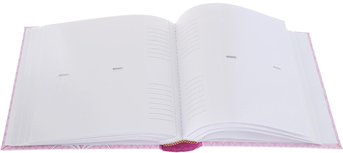 """Фотоальбом Magic Home """"Принцесса-Медведица"""", цвет: розовый, светло-коричневый, на 200 фотографий, 10 х 15 см"""