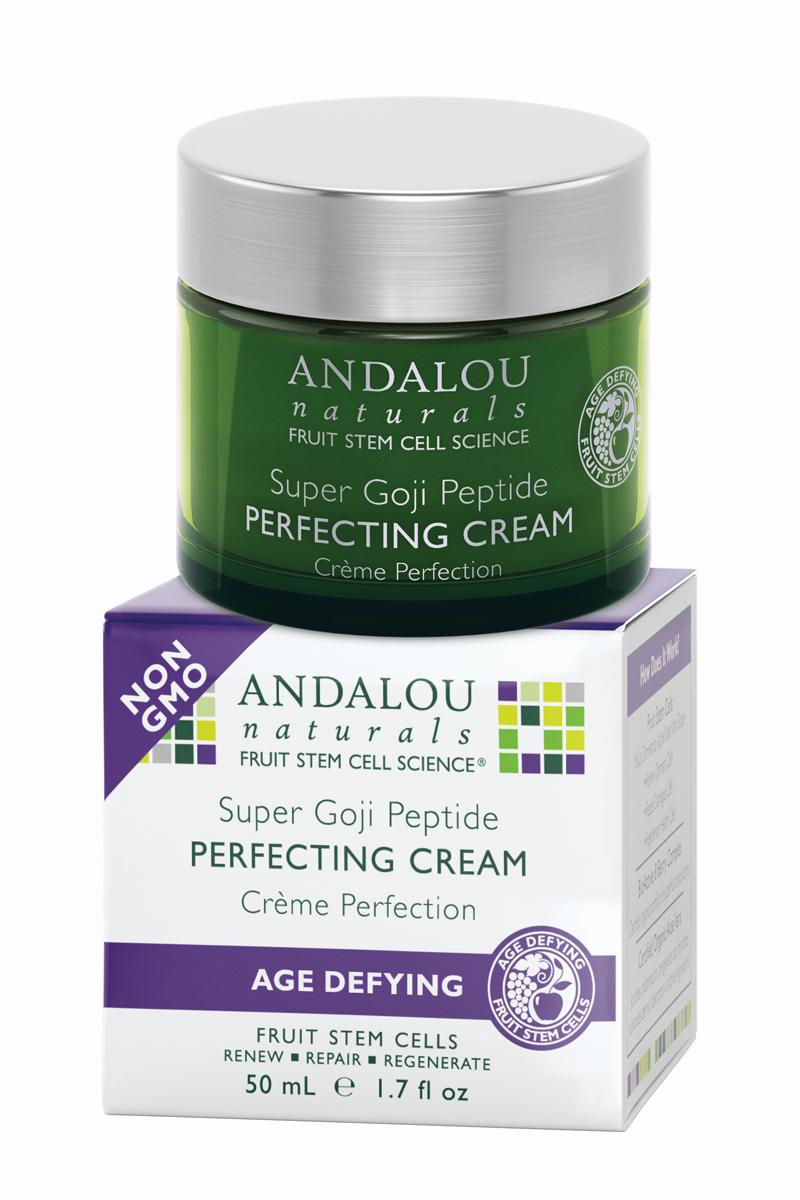ANDALOU Пептидный питательный крем Супер Годжи Антивозрастная коллекция,50 мл (Andalou)