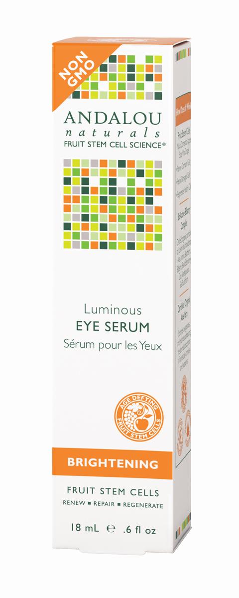 ANDALOU Осветляющая сыворотка для кожи вокруг глаз Коллекция Сияние,18 мл (Andalou)