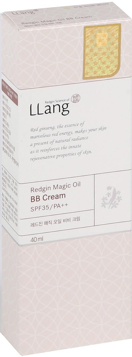 Llang ББ крем с экстрактом женьшеня Redgin Magic, оттенок 01 (светлый беж), 40 мл