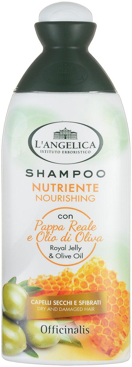 Langelica (0898) Шампунь питательный для сухих волос, 250 мл