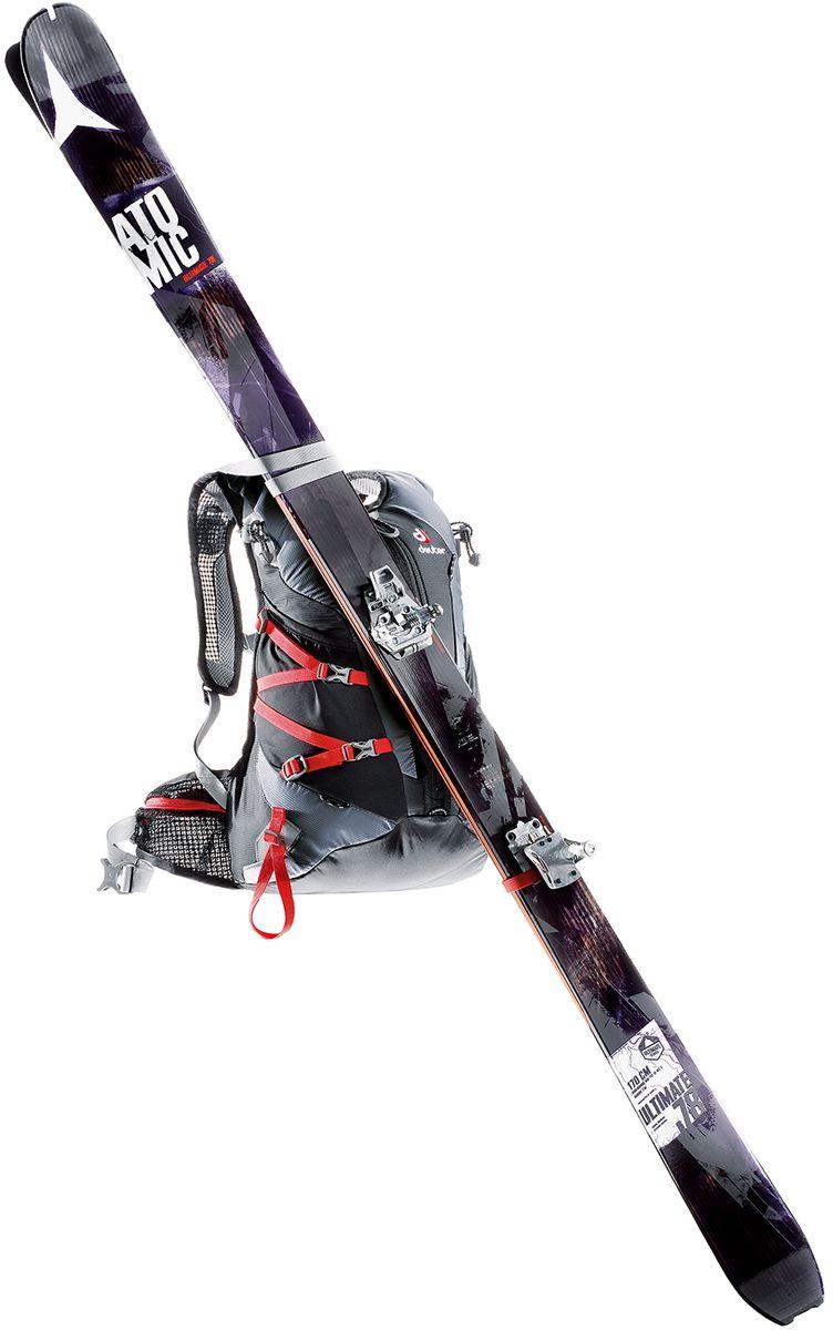 """Рюкзак спортивный Deuter """"Pace"""", цвет: черный, серый, 20 л"""