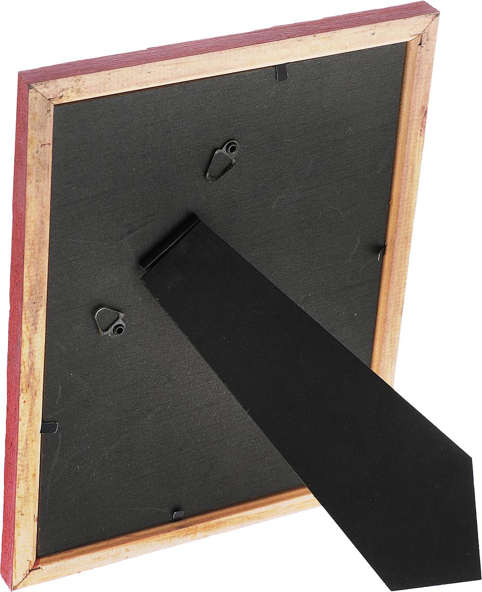 """Фоторамка Pioneer """"Adele"""", цвет: красный, 15 x 20 см"""