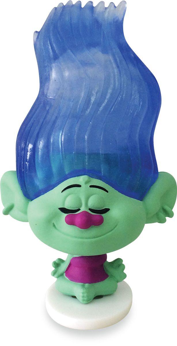 """Мармелад с игрушкой Sweet Box """"Тролли"""" - отличный подарок для вашего ребенка. Уникальная коллекция из 8 фигурок. 6 игрушек меняют цвет волос при погружении в горячую или холодную воду."""