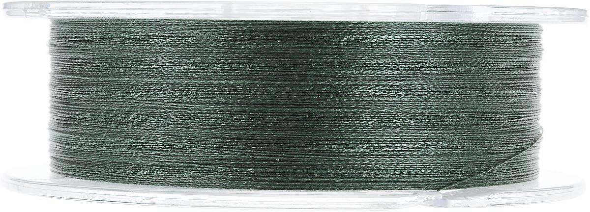"""Леска плетеная Allvega """"Ultimate"""", цвет: темно-зеленый, 92 м, 0,12 мм, 6,6 кг"""