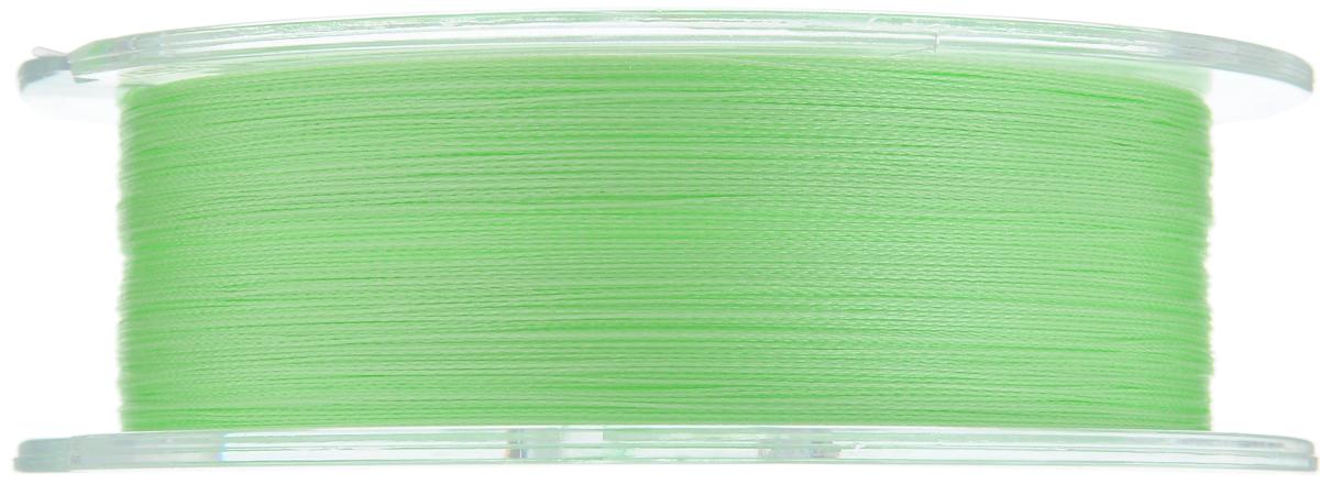 """Леска плетеная Allvega """"Ultimate"""", цвет: светло-зеленый, 92 м, 0,12 мм, 6,6 кг"""